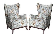 Кресло традиционное как часть комплекта Оскар, ТК309 Цветы, Нижегородмебель и К (Россия), фото 3