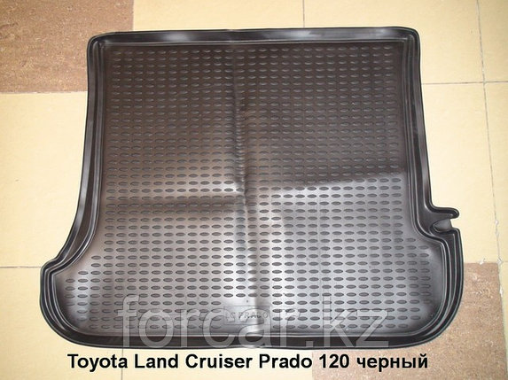 Коврик Novline в багажник  Land Cruiser Prado 120  2003 -2009 гг черный, фото 2