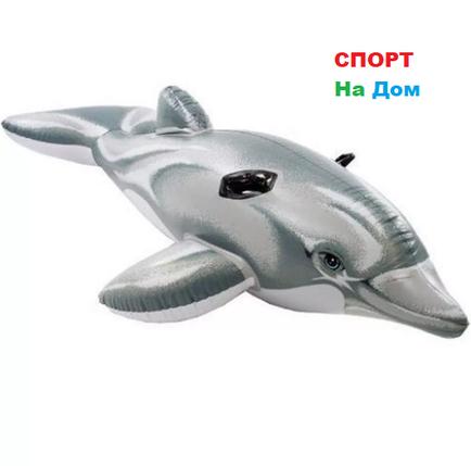 Надувная игрушка-наездник 175 см Intex Дельфин 58535, фото 2