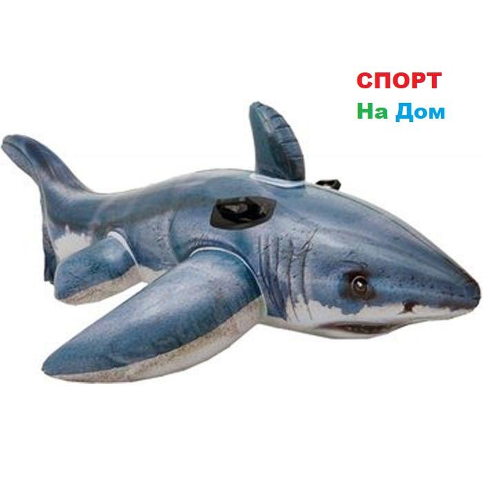 Надувная игрушка-наездник 173 см Intex Акула 57525