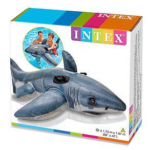 Надувная игрушка-наездник 173 см Intex Акула 57525, фото 2