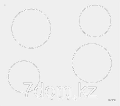 Встраиваемая поверхность керамическая Korting HK 60001 BW, фото 2