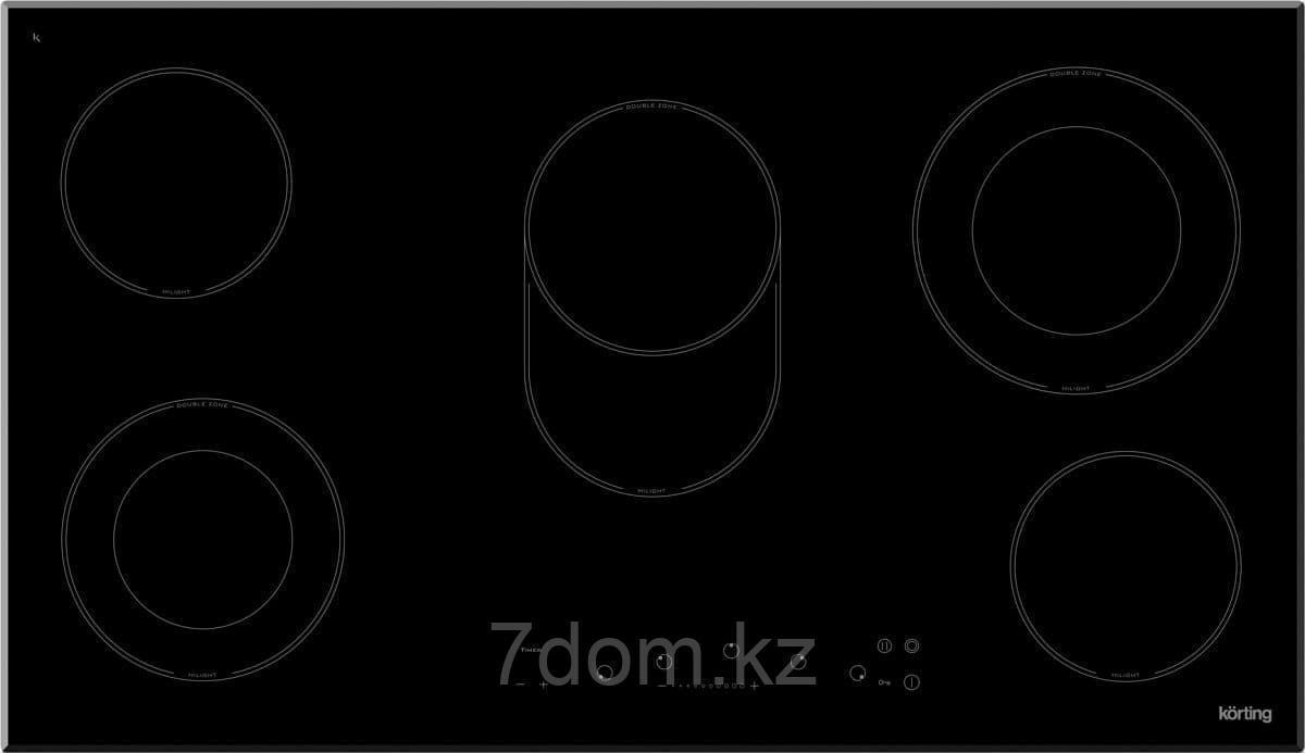Встраиваемая поверхность керамическая Korting HK 93551 B