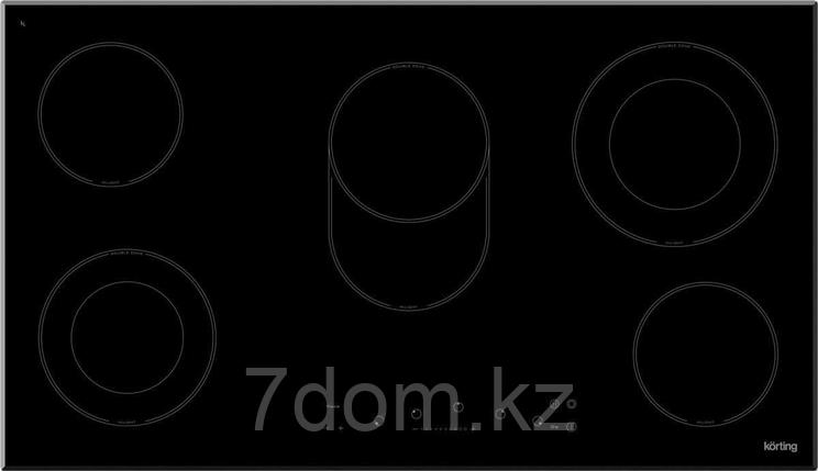 Встраиваемая поверхность керамическая Korting HK 93551 B, фото 2