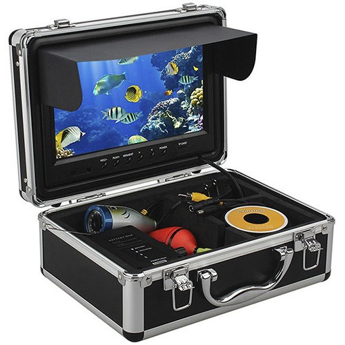 """Видеокамера для рыбалки 9"""" Syanspan 750DVR c 15 м кабелем"""
