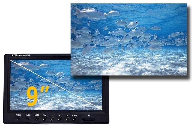 """Видеокамера для рыбалки """"SyanSpan 750DVR"""": крупный ЖК монитор"""