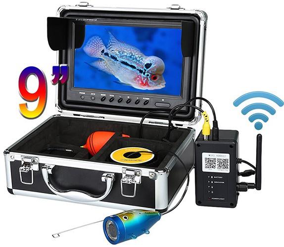 """Видеокамера для рыбалки """"SyanSpan 750DVR"""" поставляется в прочном металлическом кейсе"""
