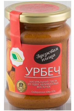 """Урбеч из ядер абрикосовых косточек, 280гр """"Биопродукты"""""""