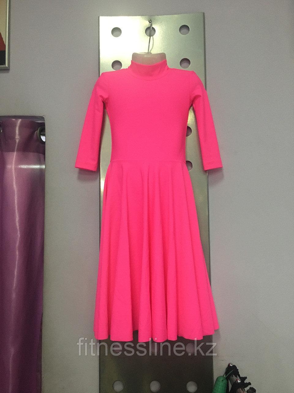 Платье для танцев  рейтинг 3/4 рукав