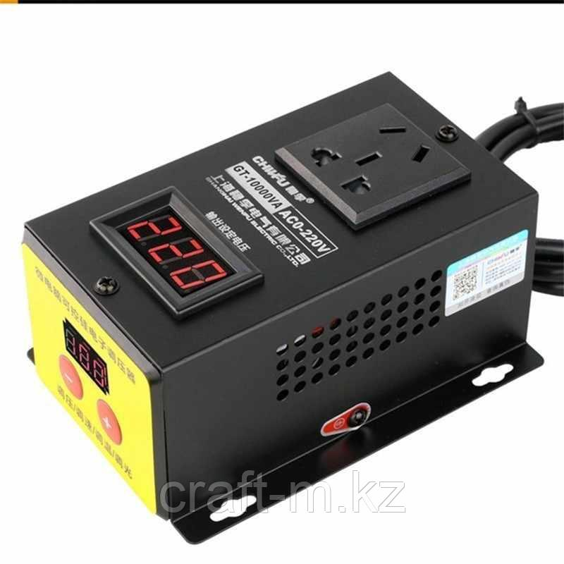 Регулятор мощьности 10 кВт/220 с кнопками