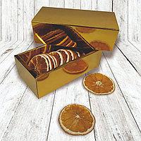 Коробка пенал 17*8,5*5,5см золото
