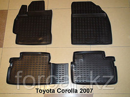 Коврики в салон TOYOTA Corolla 01/2007-2013, 4 шт.