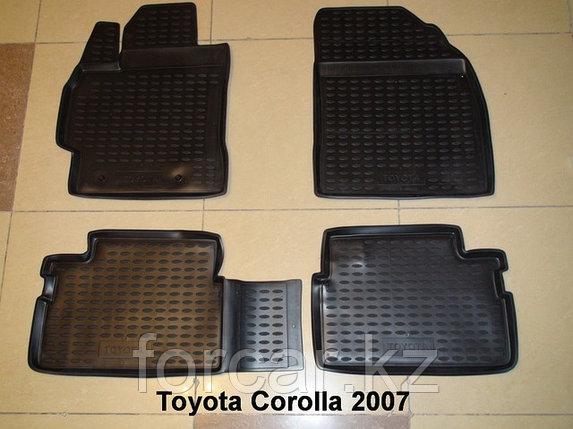 Коврики в салон TOYOTA Corolla 01/2007-2013, 4 шт., фото 2