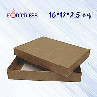 Коробка крышка+дно 16*12*2.5см крафт