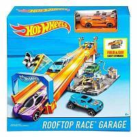 Игровой набор Hot Wheels Гараж на крыше