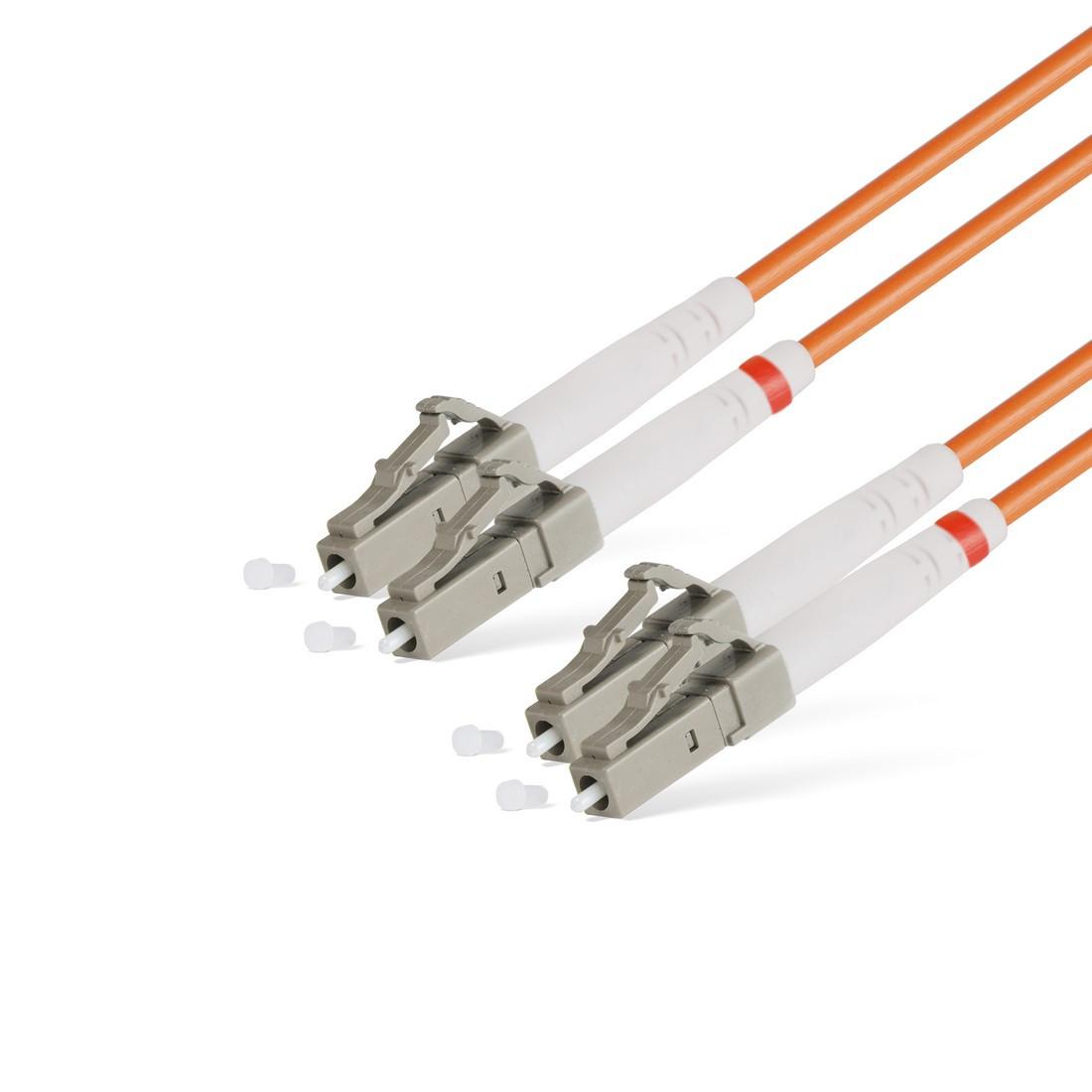 Патч Корд Оптоволоконный LC/UPC-LC/UPC MM OM1 62.5/125 Duplex 3.0мм 15 м