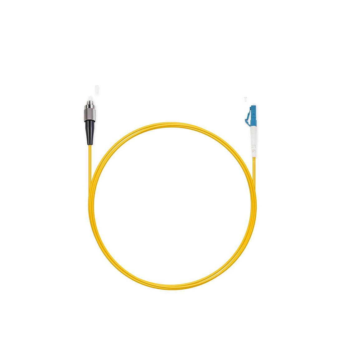 Патч Корд Оптоволоконный FC/UPC-LC/UPC SM 9/125 Simplex 3.0мм 2 м