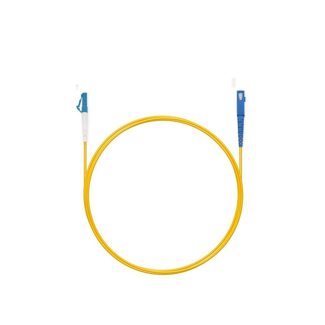 Патч Корд Оптоволоконный SC/UPC-LC/UPC SM 9/125 Simplex 3.0мм 7м