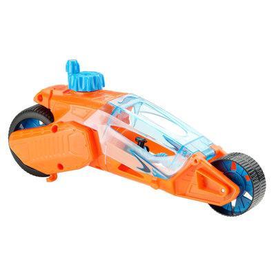 Игрушечный мотоцикл Hot Wheels Турбоскорость оранжевый