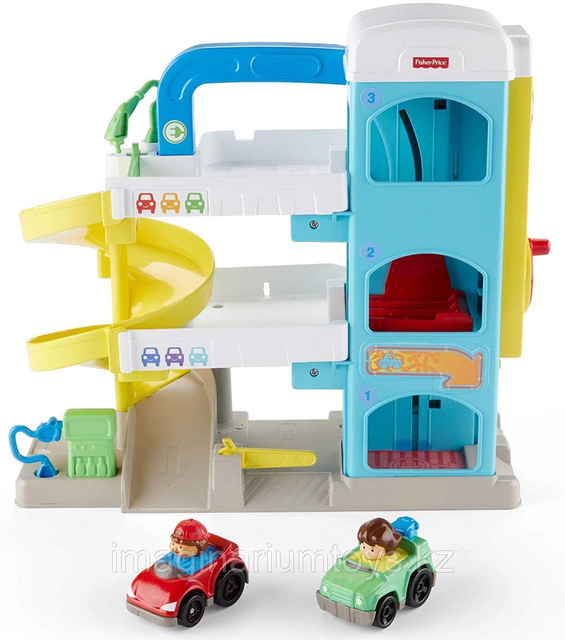 Интерактивная развивающая игрушка Гараж Fisher-Price