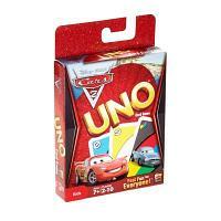 Настольная игра Mattel Games UNO Тачки 2