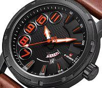 Часы спортивные кварцевые мужские NAVIFORCE NF9154 (С красными стрелками)