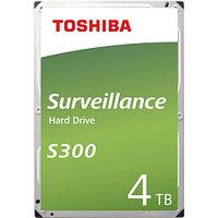 "Жесткий диск HDD TOSHIBA Surveillance S300, 4 TB/ 3.5""/ SATA III"