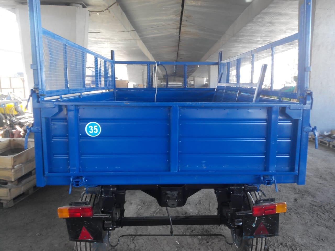 Прицеп тракторный самосвальный грузовой 2ПТС-4,5