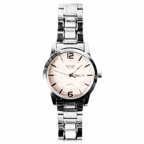 Часы мужские кварцевые водонепроницаемые OMAX 2448 (Белый)