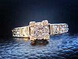 """Кольцо """"Paris"""" серебро, фото 2"""
