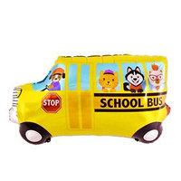 Шар фольгированный 42' 'Школьный автобус'