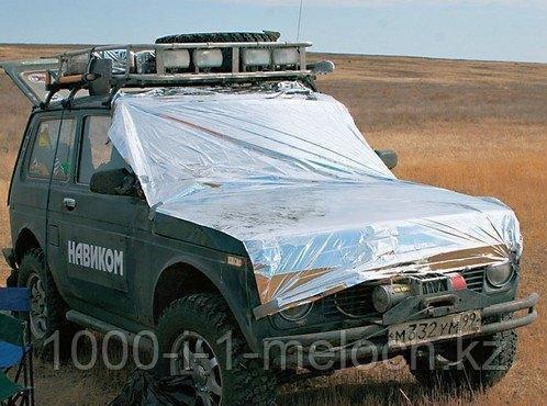 Покрывало спасательное изотермическое. Серебро/Серебро 210X160cm. Алматы - фото 3