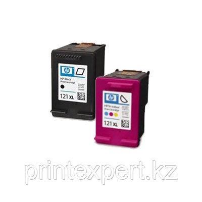 Картридж HP CC644HE Tri-color Inkjet Print Cartridge №121XL,11ml, фото 2