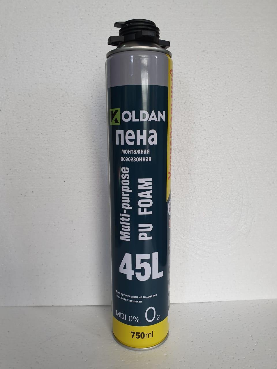 Пена универсальная всесезонная KOLDAN (45л)