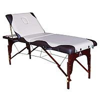 Складной массажный стол DFC Nirvana Relax Pro (бежевый с коричневым), фото 1
