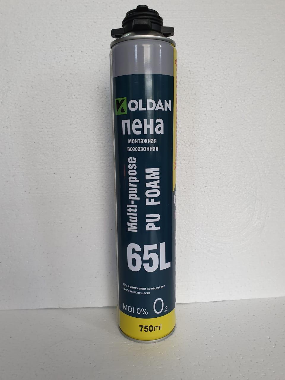 Пена универсальная всесезонная KOLDAN (65Л)