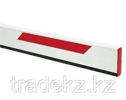 FAAC 428064 стрела прямоугольная 7 м со светоотражающими наклейками, 50х100х7000 мм
