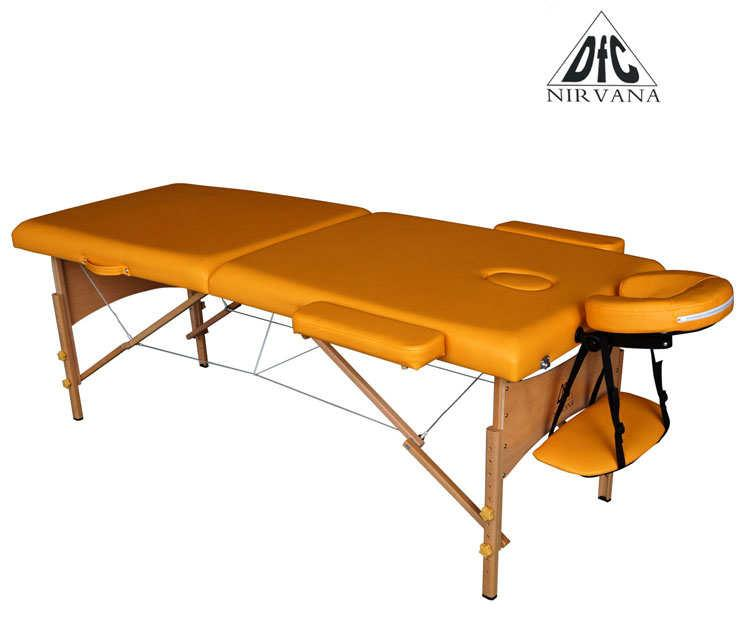 Складной массажный стол DFC Nirvana Relax Mustard