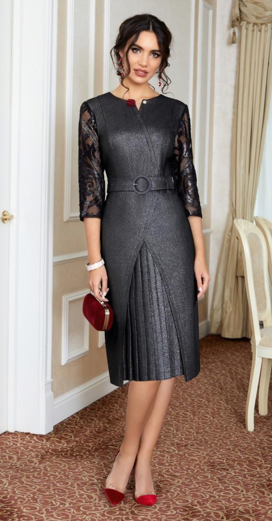 Платье Lissana-3874, черный, 50