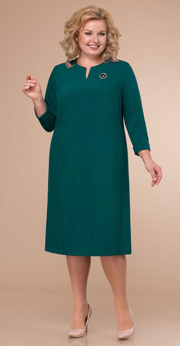 Платье Линия-Л-Б-1761/1, зеленый, 60