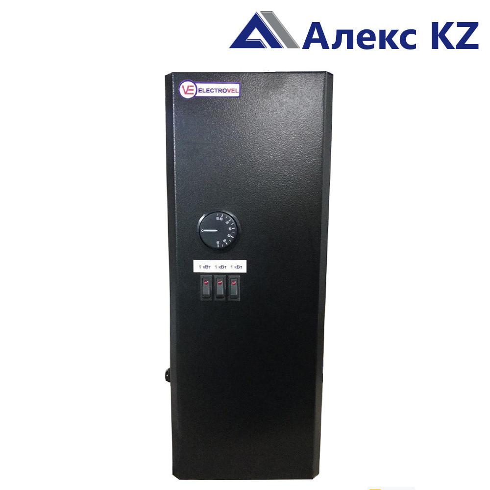 """Электрокотёл """"ElectroVel"""" 1 ЭВПМ-6 кВт (220/380) НВ (Авт) черный"""