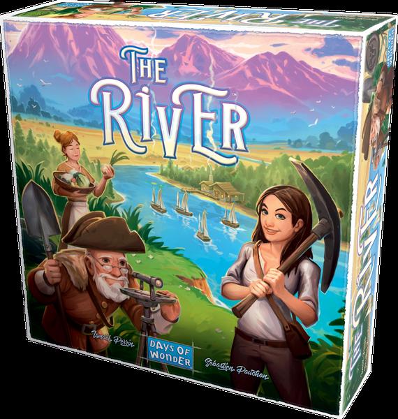 Настольная игра: Река (The River)