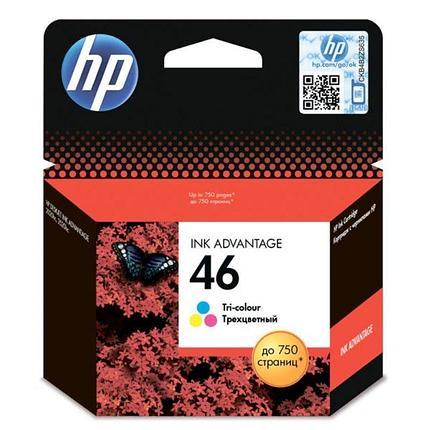 Картридж HP №46 цветной, фото 2