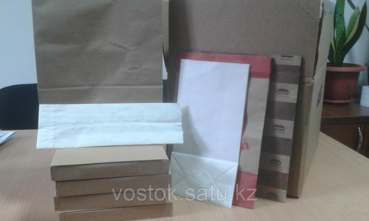 Бумажные пакеты Разные цвета - фото 2