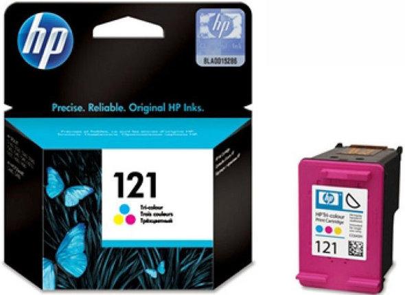 Картридж HP №121 цветной, фото 2