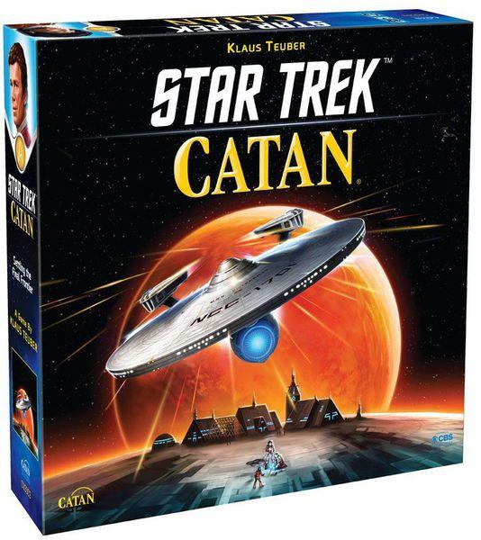 """Настольная игра: """"Колонизаторы: Звездный Путь"""" (Star Trek Catan)"""