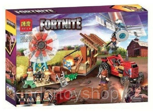 Конструктор BELA Fortnite Битва на ферме 11128 ( Аналог лего LEGO) 413 дет