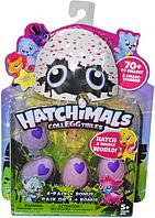 Немного помятая упаковка!! 28361 Хэтчимелс зверушка 4 яйца+1 фигура 27*19