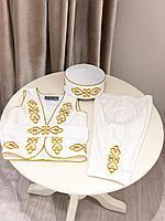 Национальный костюм для мальчика айвори