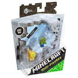 Mattel Minecraft  Майнкрафт: набор из 3-х фигурок (в ассортименте)